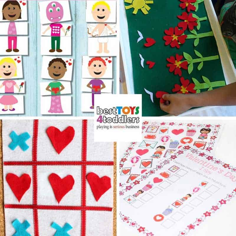 Valentines day quiet time activities for toddlers and preschoolers