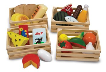 Best Toys For 4 Year Olds: Wooden Pretend Food