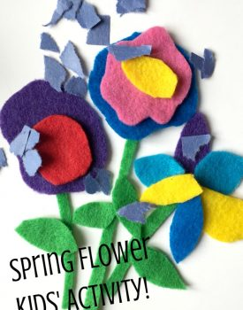 Spring Busy Bag: Fun with Flowers