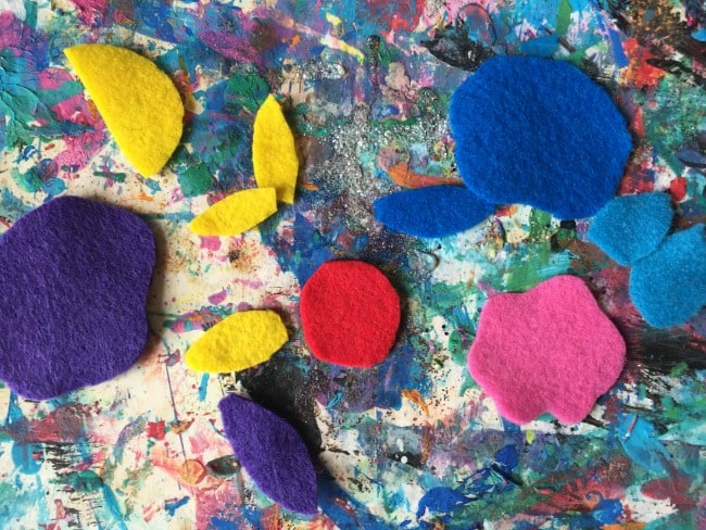 spring flowers craft for preschoolers