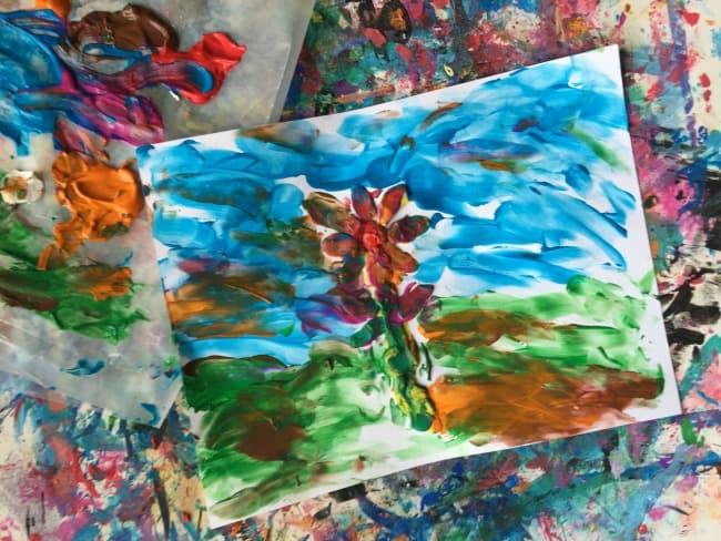 impressionist art preschool activity
