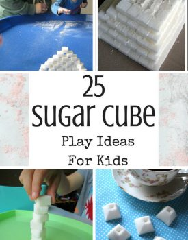 25 Sugar Cube Play Ideas For Kids