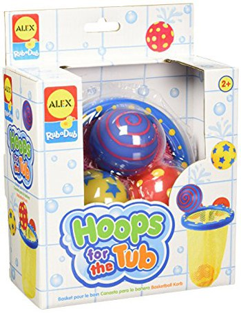Top 10 Bath Toys For 2 Year Olds: Rub a Dub Hoops For The Tub