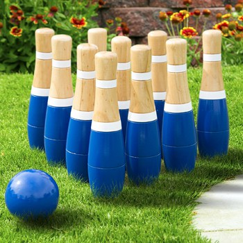 Top 10 Play Sets For 3 Year Olds: Wooden Lawn Bowling Set