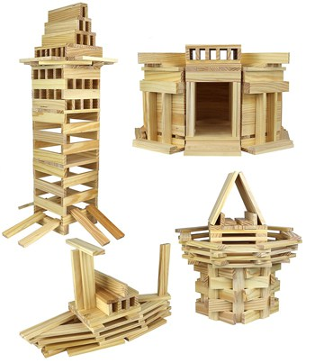 Top 10 Play Sets For 2 Year Olds: Click N Play Wooden Block Set