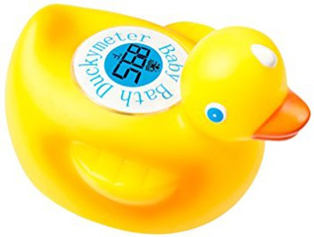 Top 10 Bath Toys For 2 Year Olds: Floating Duck Toy Thermometer