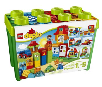 Top 10 Play Sets For 2 Year Olds: LEGO DUPLO My First Box Of Fun