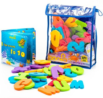 Top 10 Bath Toys For 2 Year Olds: Baby Bath Toy Letters & Numbers