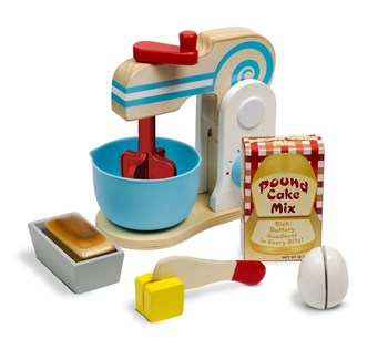 Top 10 Play Sets For 3 Year Olds: Wooden Make A Cake Mixer Set