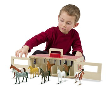 Top 10 Play Sets For 4 Year Olds: Show Horse Stable Play Set