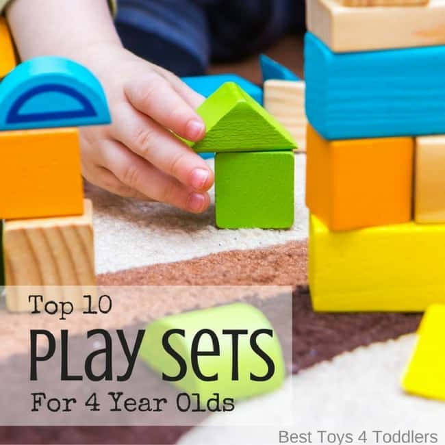 Top 10 Play Sets For 4 Year Olds