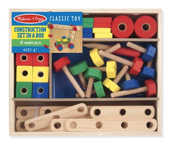 Top 10 Play Sets For 4 Year Olds: Wooden Construction Building Set