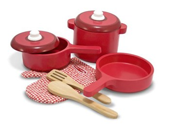 Top 10 Play Sets For 4 Year Olds: Wooden Kitchen Accessory Set
