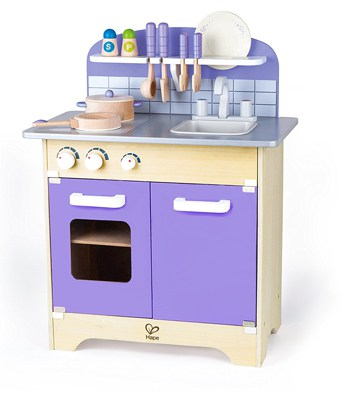 Top 10 Play Sets For 4 Year Olds: Wooden Kitchen Play Set