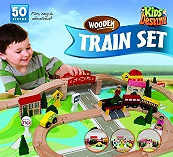 Top 10 Play Sets For 2 Year Olds: Wooden Train Set