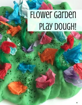 Flower Garden Fine Motor Play Dough