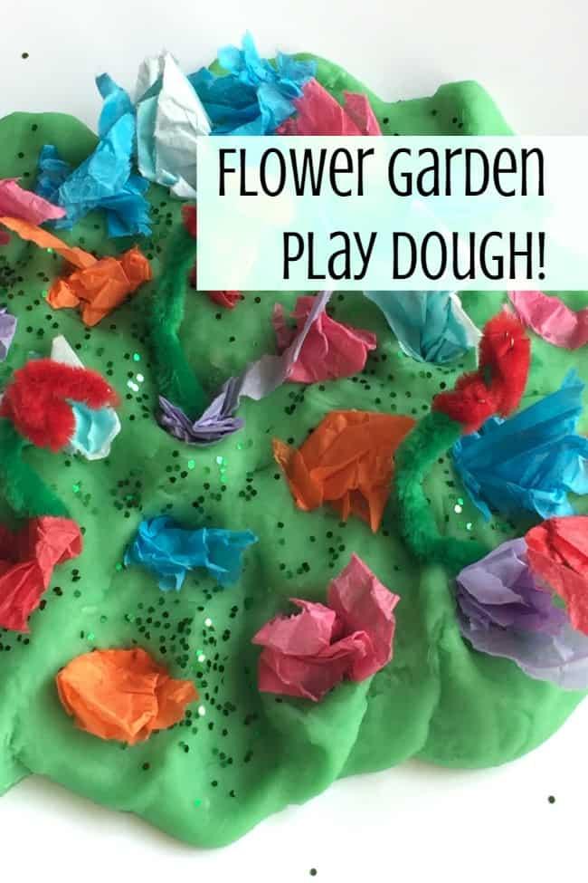 flower garden preschool fine motor activity
