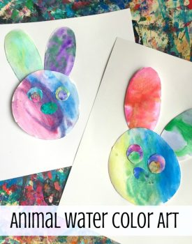 Water Color Animal Art