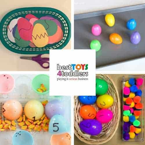 learning activities with easter eggs