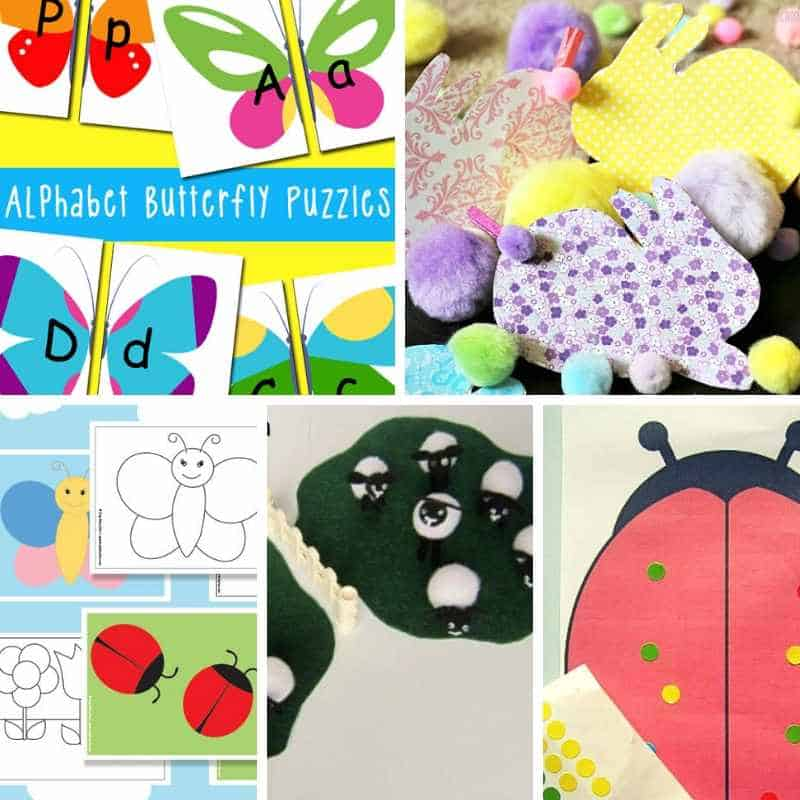 spring activities for toddlers and preschoolers