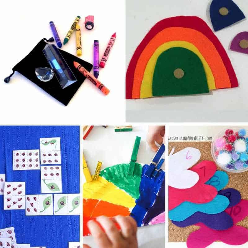 spring quiet time activities for toddlers and preschoolers