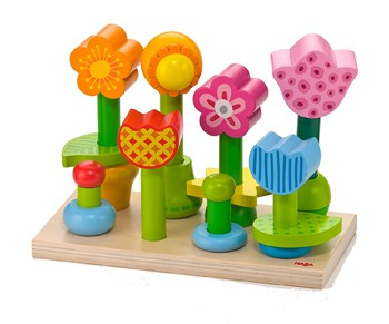 Top 10 STEM Toys For 1 Year Olds: Garden Wooden Mix & Match Stacking Toy