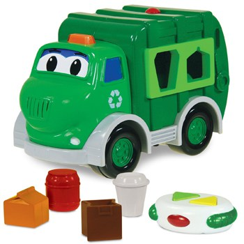 Top 10 STEM Toys For 1 Year Olds: Recycle Truck Shape Sorter