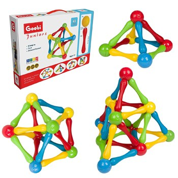 Top 10 STEM Toys For 2 Year Olds: Goobi Junior Construction Set