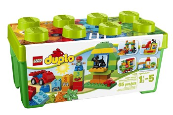 Top 10 STEM Toys For 1 Year Olds: LEGO DUPLO All In One Box Of Fun