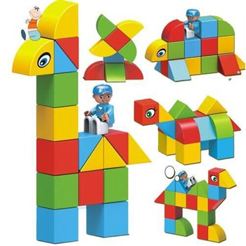 Top 10 STEM Toys For 2 Year Olds: Magnetic Building Blocks