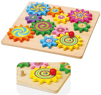 Top 10 STEM Toys For 2 Year Olds: Puzzle and Spinning Gears