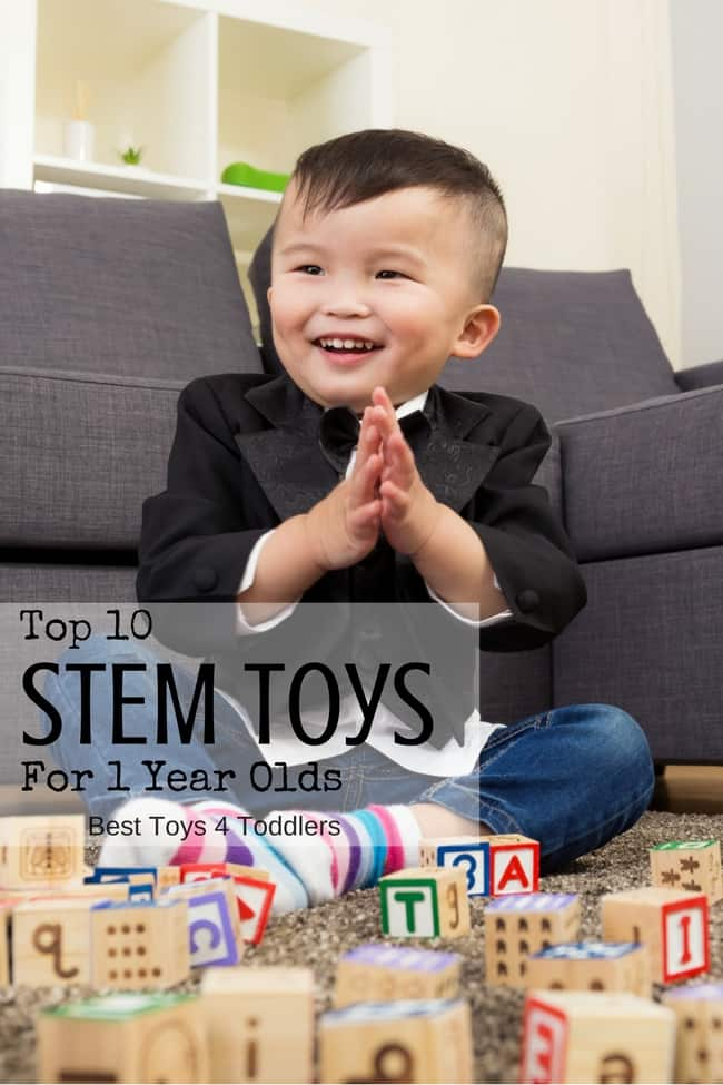 Top 10 STEM Toys For 1 Year Olds