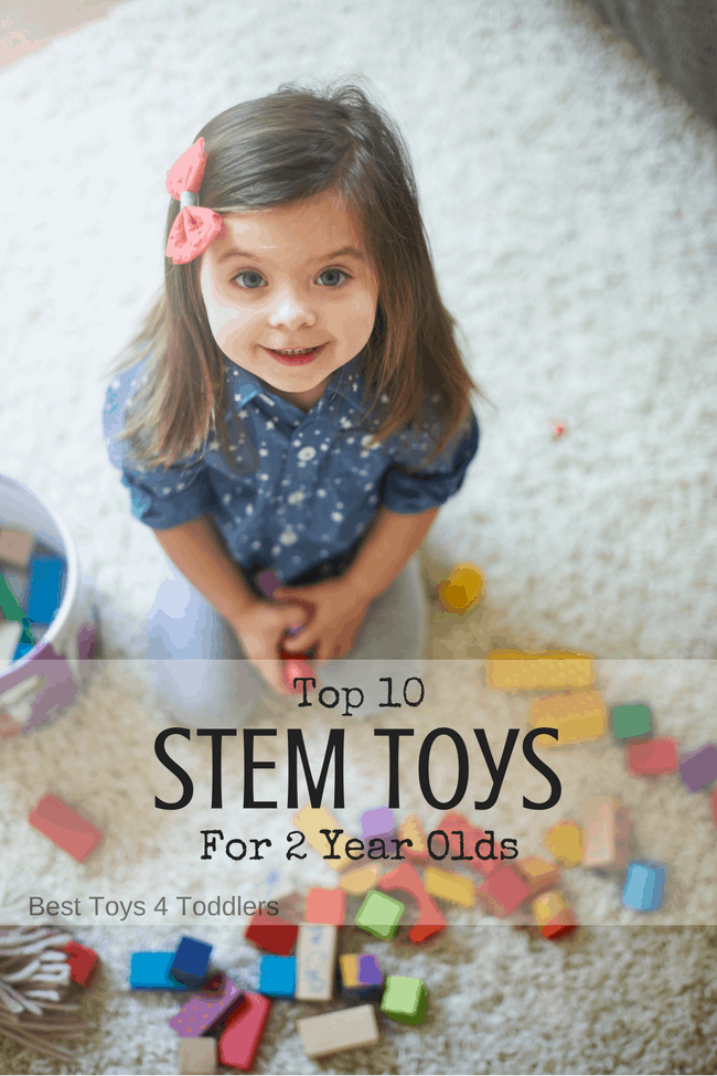 Toddler introduction to science technology engineering math top 10 STEM toys for two year olds