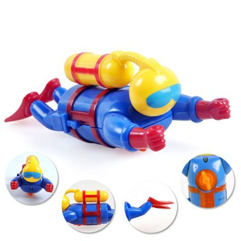 Top 10 Bath Toys For 4 Year Olds: Wind Up Swimming & Diving Scuba Diver
