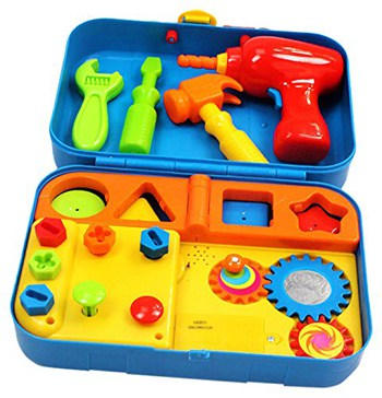Top 10 STEM Toys For 1 Year Olds: Kidoozie Cool Toys Tool Set