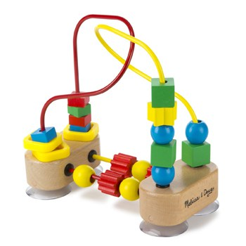 Top 10 STEM Toys For 1 Year Olds: Wooden Bead Maze