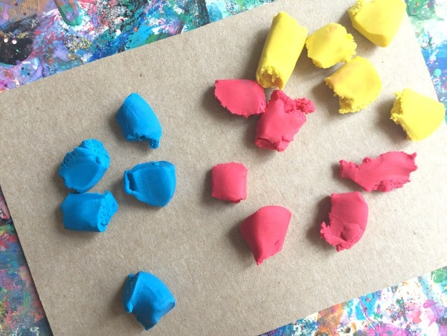 modeling clay fine motor activity