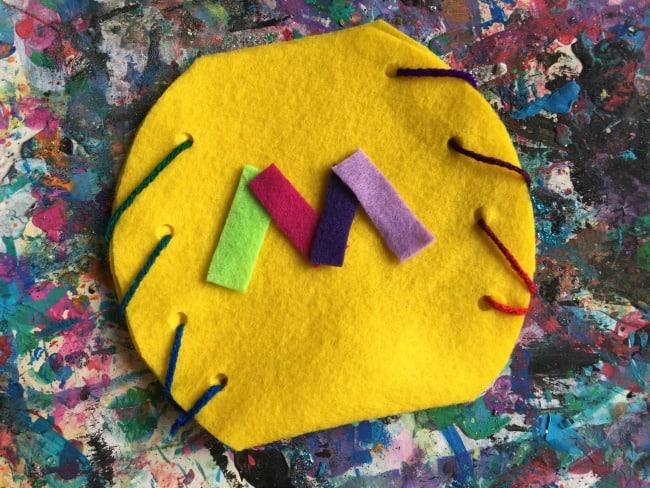 preschool spring purse