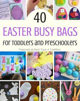 40 Easter Busy Bags for Toddlers and Preschoolers