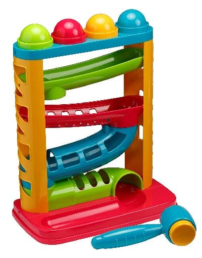 Best STEM toys for 1 year old boys and girls - Pound a ball