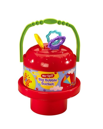 Top 10 Outdoor Toys For 2 Year Olds: No Spill Big Bubble Bucket