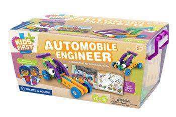 Top 10 STEM Toys For 3 Year Olds: Kids First Automobile Engineer