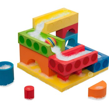 Top 10 STEM Toys For 3 Year Olds: Bath Blocks Floating Ball Run