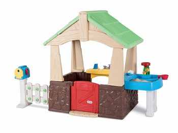 Top 10 Outdoor Toys For 2 Year Olds: Deluxe Home and Garden Play House