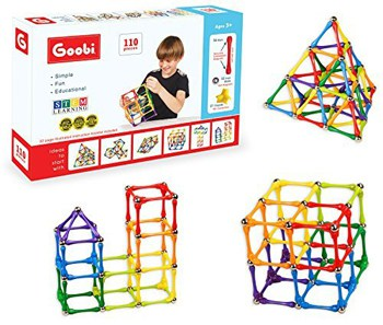 Top 10 STEM Toys For 4 Year Olds: Goobi Construction Set