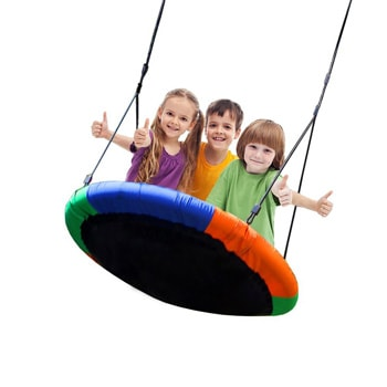Top 10 Outdoor Toys For 2 Year Olds: Large Tree Saucer Swing