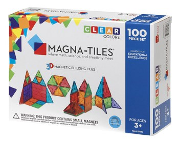 Top 10 STEM Toys For 4 Year Olds: Magna-Tiles Clear Colors Set