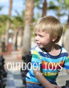 Top 10 Outdoor Toys For 1 Year Olds