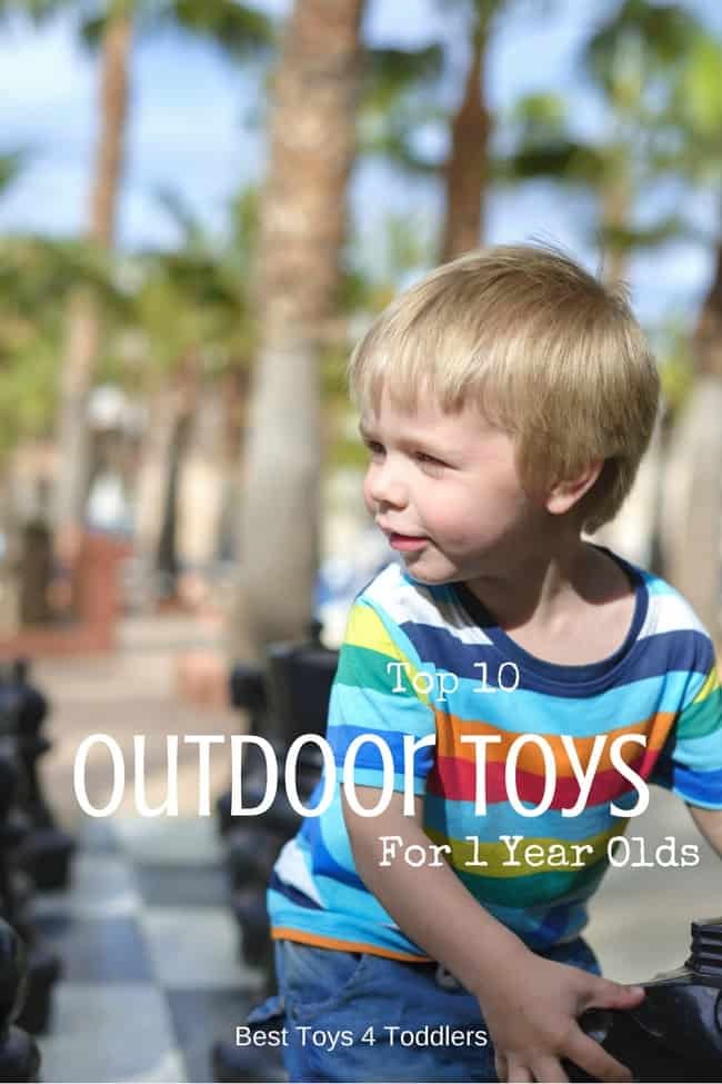 Top 10 Outdoor Toys for 1 Year Old Boys and Girls for active play and building motor skills