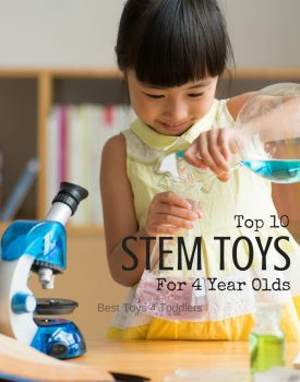Top 10 STEM Toys For 4 Year Old Boys and Girls